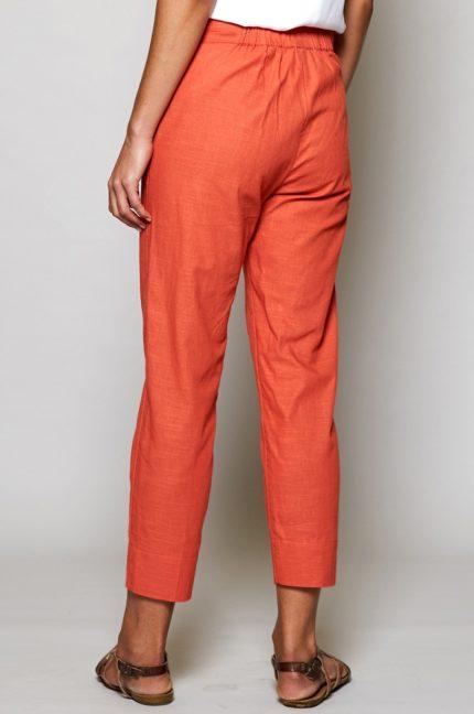 Nomads capri kalhoty slim korálové