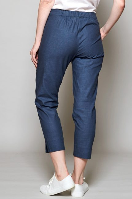 Nomads capri kalhoty slim modré