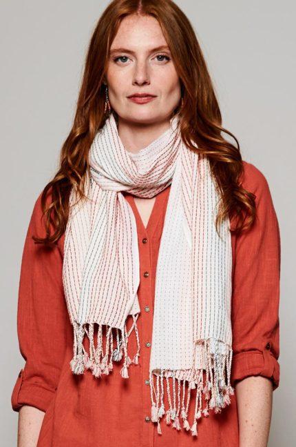 Nomads bavlněný šátek stitch cersie