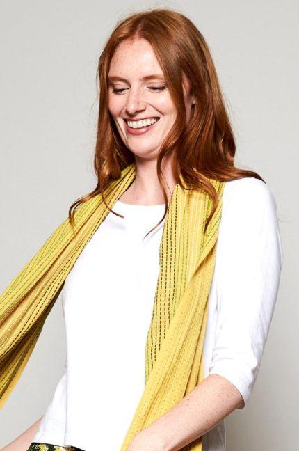 Nomads bavlněný šátek stitch haldi