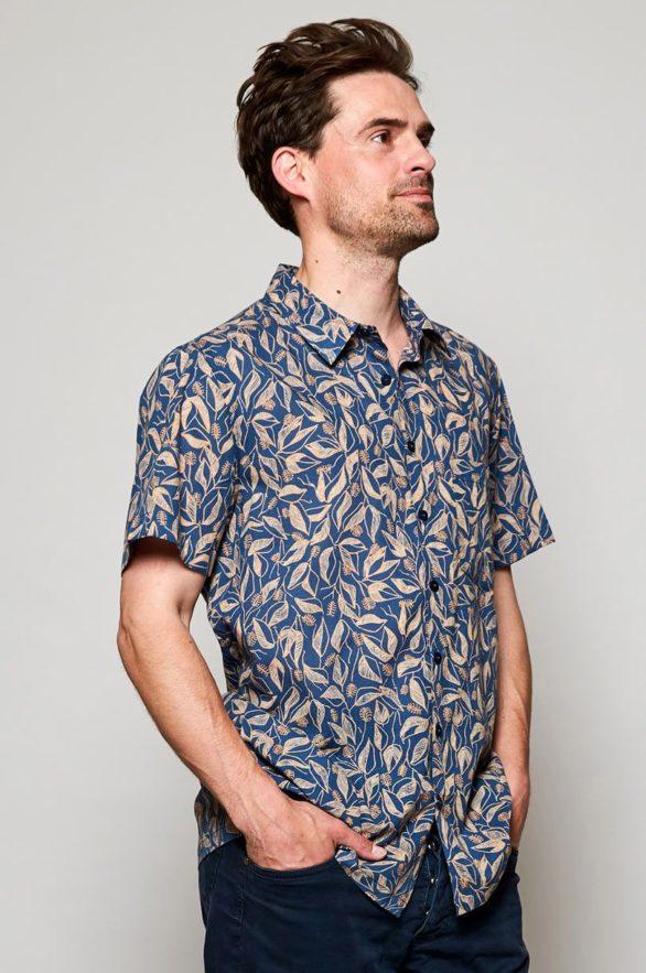 Nomads pánská košile s krátkým rukávem sundowner