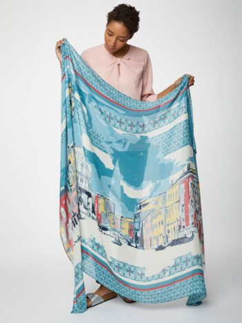 Thought bambusový sarong canaletto