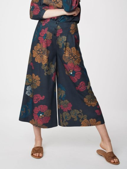 Thought modalové kalhoty culottes marrina