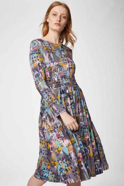 Thought bambusové šaty dorothia