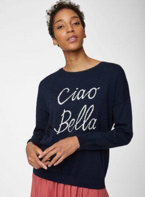 Thought svetr s vlnou ciao bella