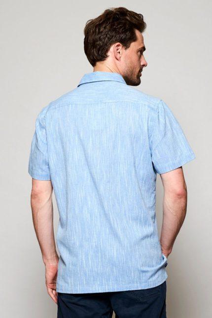 Nomads pánská košile s krátkým rukávem sky