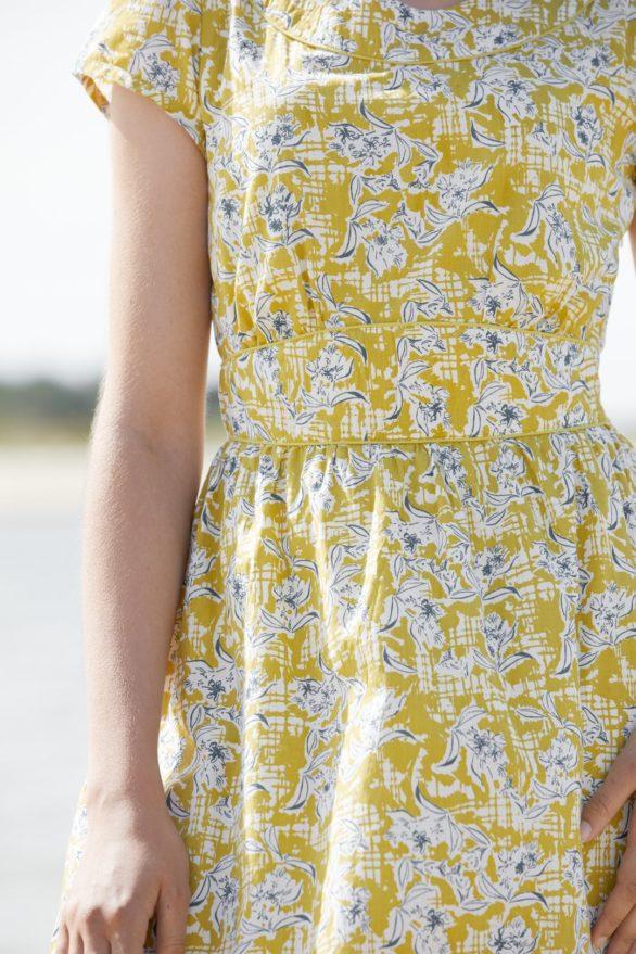 Seasalt Cornwall Šaty briarfield žluté
