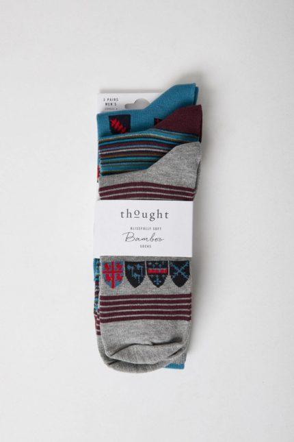 Thought trojbalení pánských ponožek riccardo