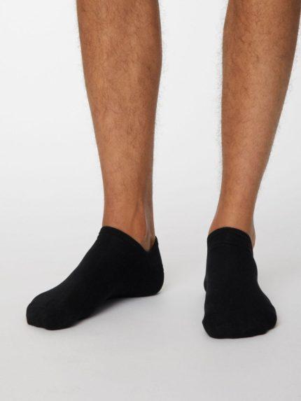 Thought kotníkové pánské ponožky ashley černé