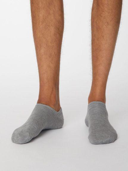 Thought kotníkové pánské ponožky ashley šedé