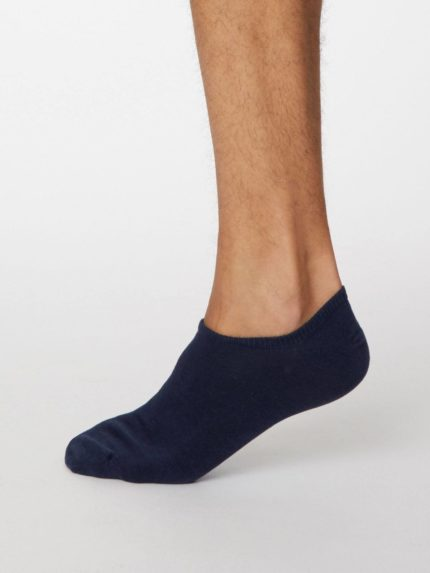Thought kotníkové pánské ponožky ashley modré