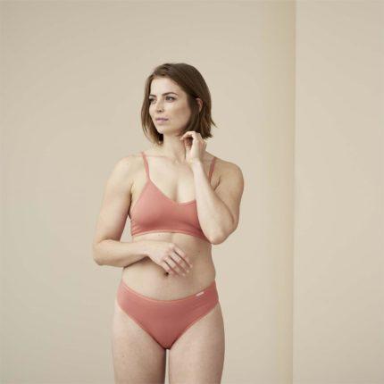 Living Crafts kalhotky z bio bavlny clarissa růžové