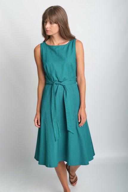 Bibico bavlněné šaty grace zelené