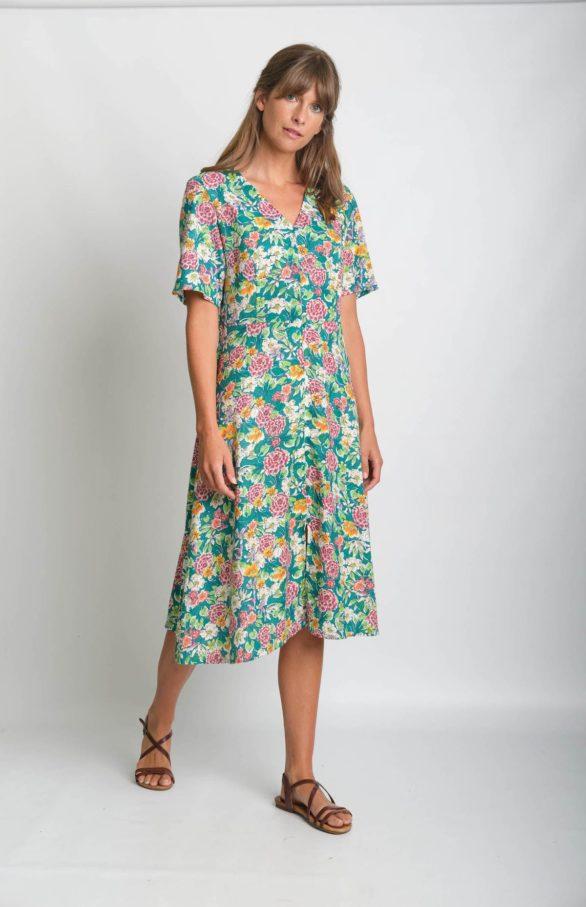 Bibico bavlněné šaty zoe floral