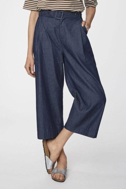 Thought kalhoty culottes z bio bavlny camila