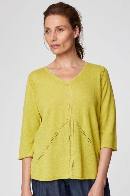 Thought svetřík s konopím ethel žlutý