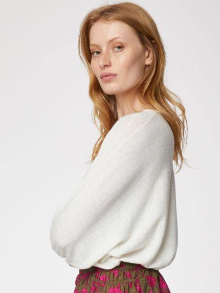Thought svetřík s konopím lillian bílý