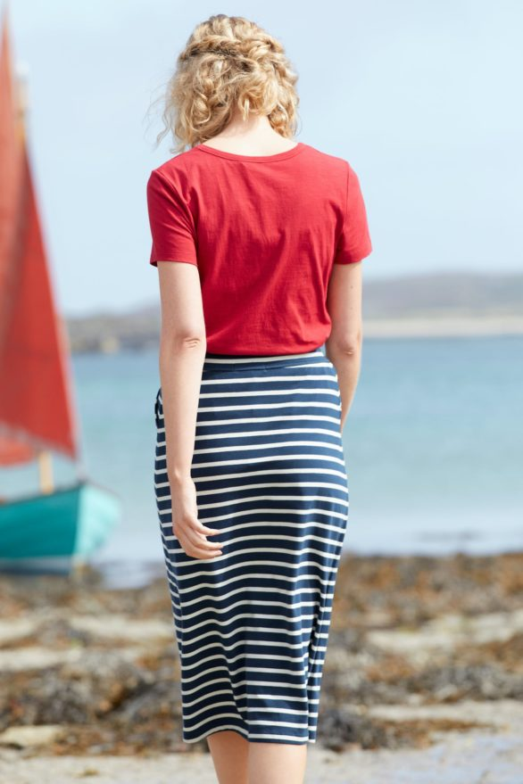 Seasalt Cornwall sukně z bio bavlny island days harbour