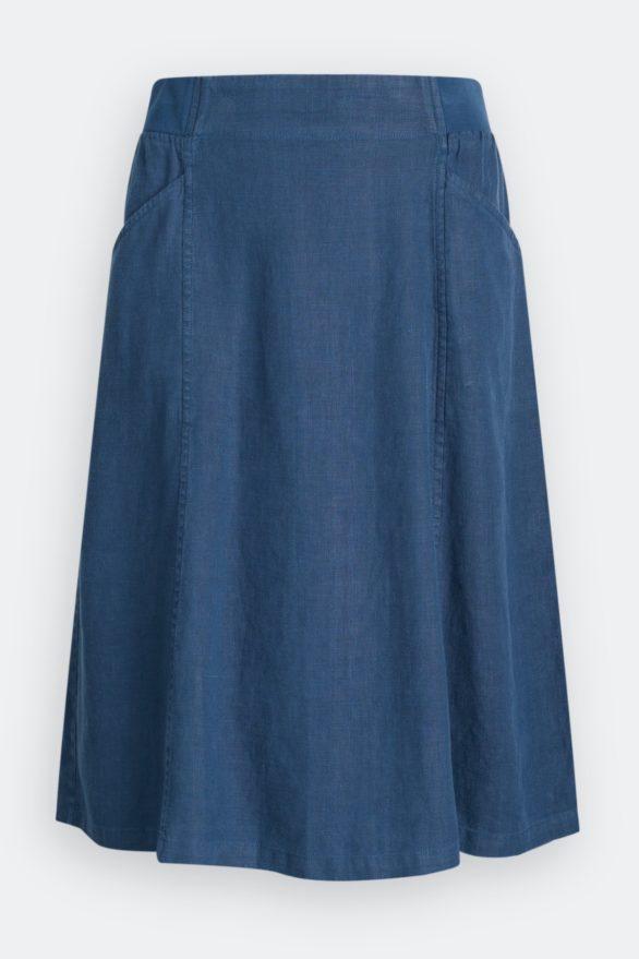 Seasalt Cornwall Lněná sukně Castel Garden Harbour