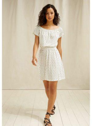 People Tree tencelové šaty ingrid olive