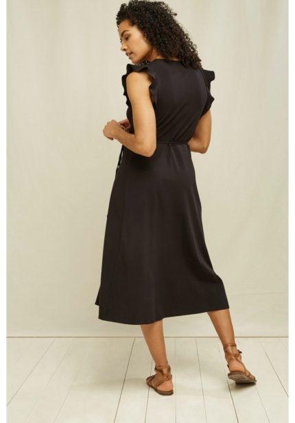 People Tree Šaty z bio bavlny melanie černé