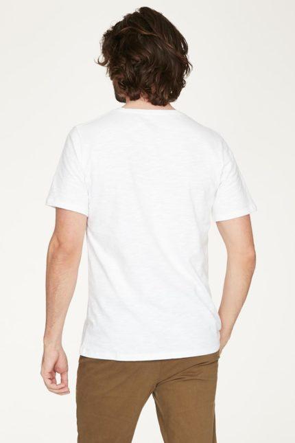 Thought pánské tričko z bio bavlny bílé
