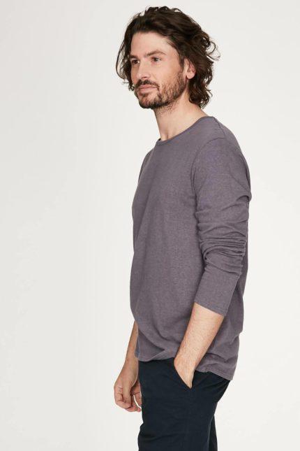 Thought pánské triko s konopím luigi šedé