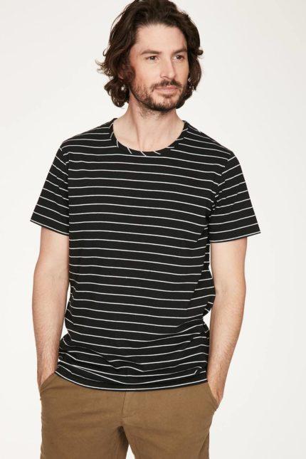 Thought pánské tričko s konopím jacopo černé