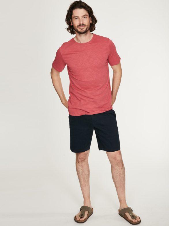 Thought pánské tričko z bio bavlny růžové