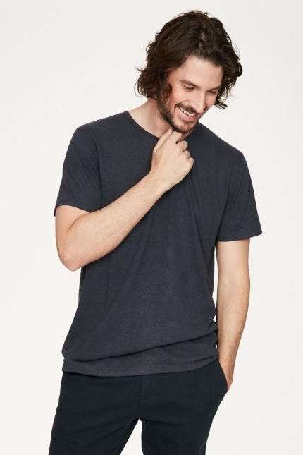 Thought pánské tričko s konopím samuele šedé