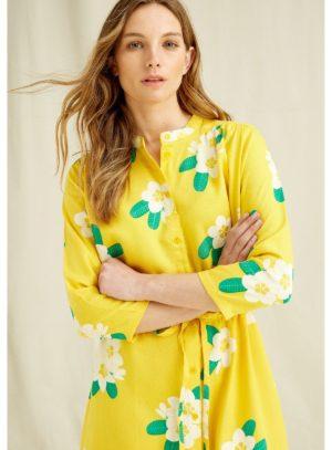 People Tree tencelové šaty savannah plumeria
