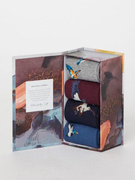 Thought dárkové balení pánských ponožek water bird