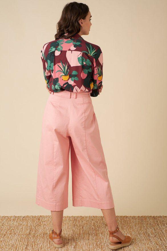 Emily and Fin kalhoty lori culotte růžové