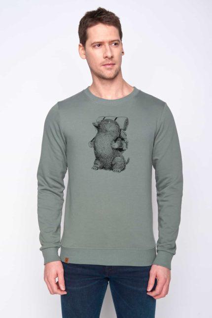 Greenbomb mikina mole zelená