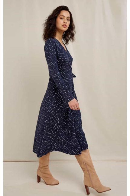 People Tree zavinovací šaty lisa z bio bavlny