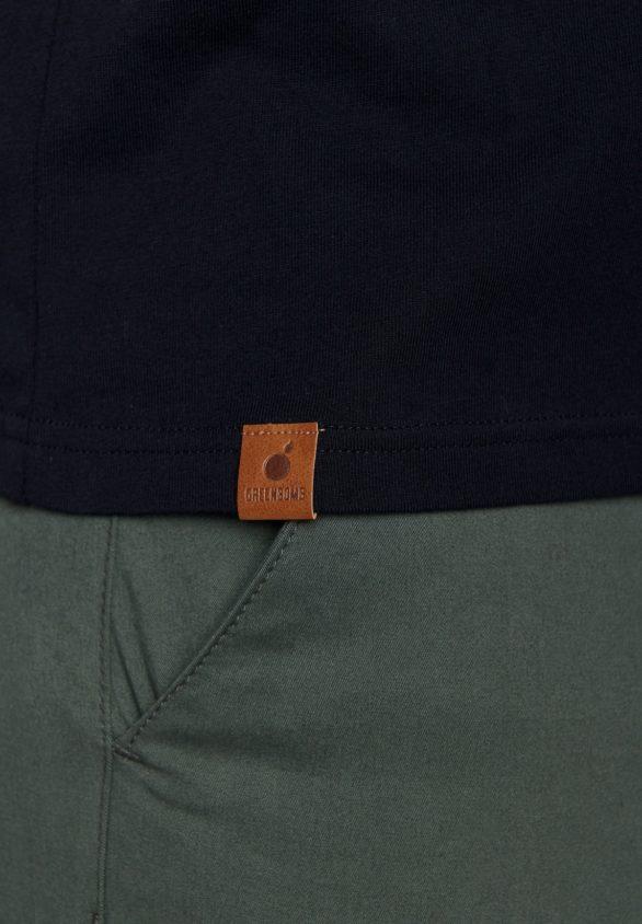 Greenbomb tričko bike badge černé