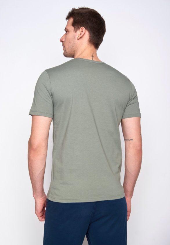 Greenbomb tričko bike badge zelené