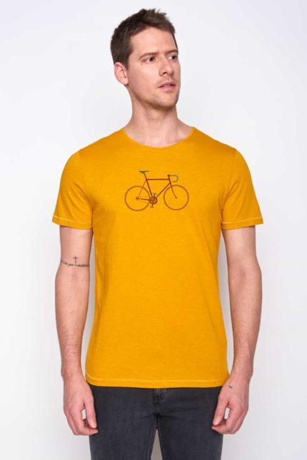 Greenbomb tričko bike trip žluté