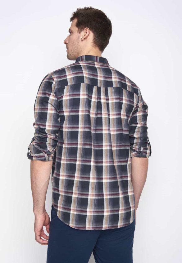 Greenbomb pánská košile break bordó