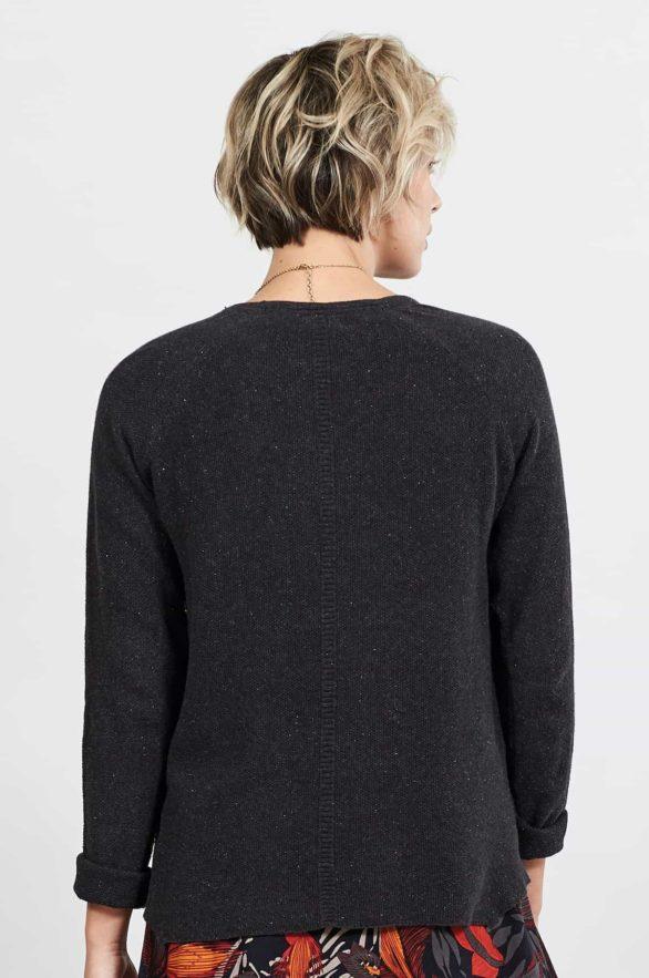 Nomads svetr z bio bavlny graphite