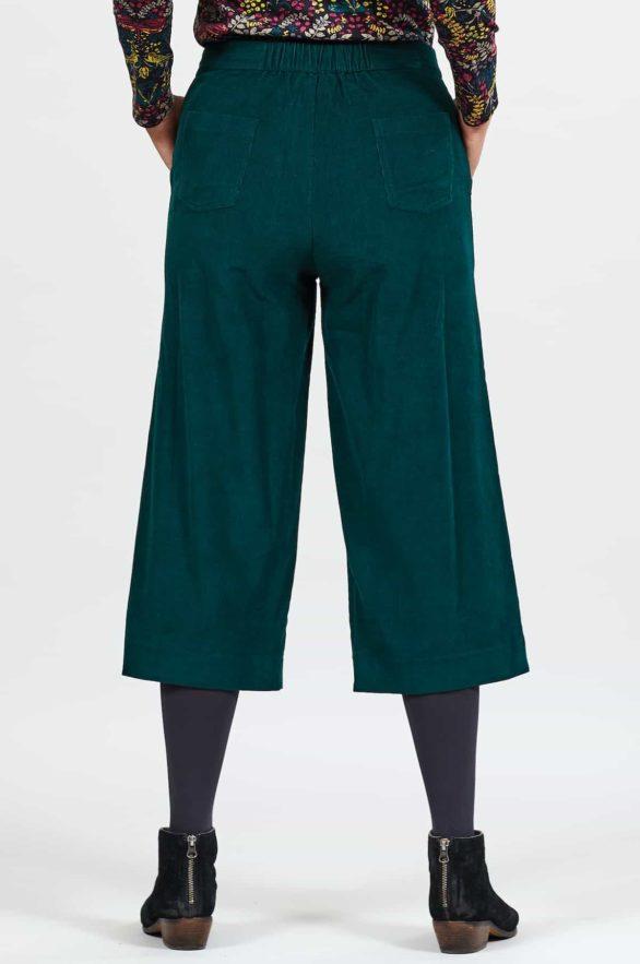 Nomads krop manšestrové kalhoty bay