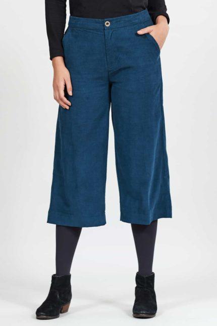 Nomads krop manšestrové kalhoty midnight