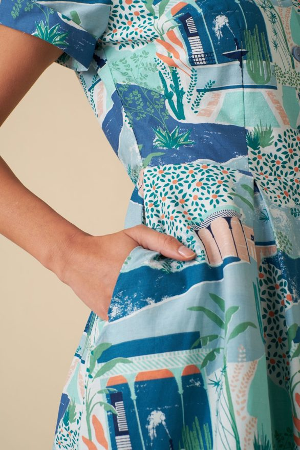 Emily and Fin košilové šaty kate le maroc