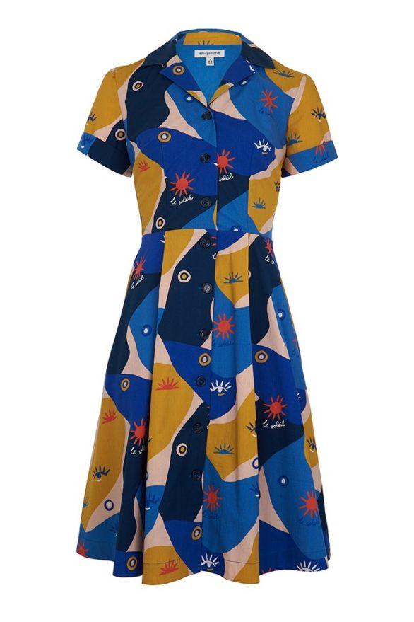 Emily and Fin košilové šaty kate jardin solei