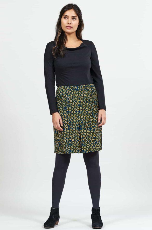 Nomads manšestrová sukně lattice