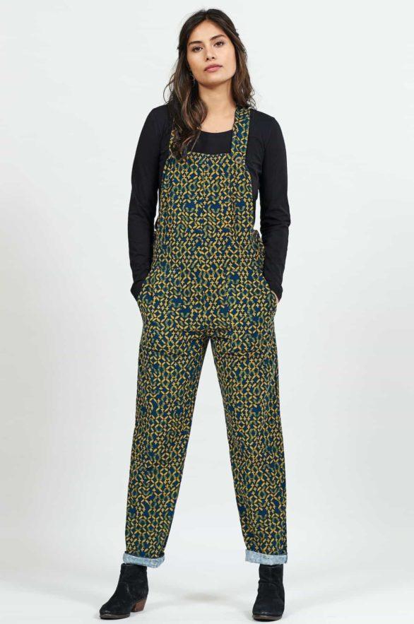 Nomads manšestrové kalhoty lattice s laclem