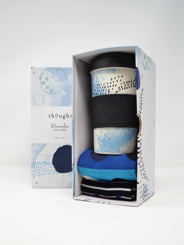 Thought dárkové balení hrníčku a pánských ponožek jarrold