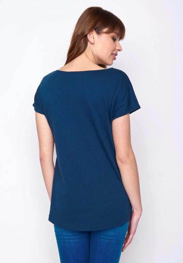 Greenbomb dámské tričko bike single modré