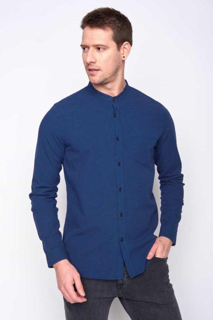 Greenbomb pánská košile pletny modrá