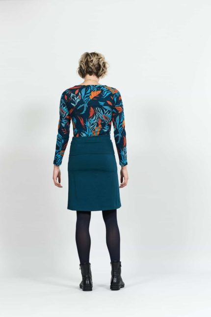 Nomads sukně s nastavitelným lemem modrá